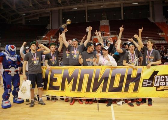 СПбГУПТД выиграли чемпионат АСБ!